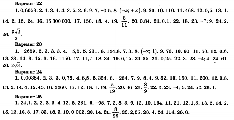 Решебник По Огэ Математика 2018 Ященко 30 Вариантов Ответы С Решением